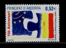ANDORRA ESPAÑOLA 2004 322 Ingreso Consejo Europa 1v.