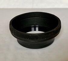 Vivitar 52mm Collapsible Rubber Lens Hood