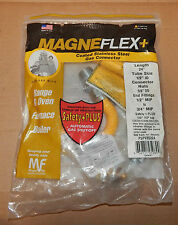 "Magneflex Gas Connector Range & Oven 24""x1/2"" 5/8"" USA PSPV85324 Safety Plus 86A"