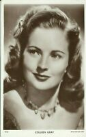 Colleen Gray Hollywood Actress Movie Film Star 1940s Real Photo Postcard