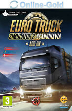 Euro Truck Simulator 2 II Scandinavia - PC Steam Code - Add-on DLC Key [DE/EU]