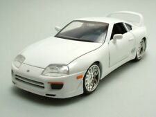 Fast and Furious 7 Brians Toyota Supra blanco 1 24 escala Jada 97375