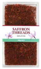 Chef's Choice 100% Pure Premium Quality Saffron Threads 10g Free Post