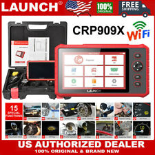 LAUNCH X431 CRP909X OBD2 Car Diagnostic Tool Wifi Full System Automotive Scanner