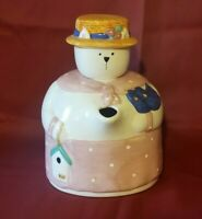 Linda Higgins 1992 CAT Bug Catcher  Sugar Container 11 Inches Tall