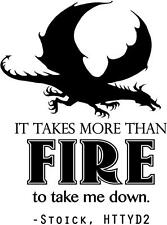 """How to Train Your Dragon 2 Wall Decal - Kid's Bedroom Decor 20""""x32"""" [Ds33]"""