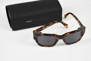 RRP $291 MARC BY MARC JACOBS MMJ 485/STUDS Wayfare 135 Size Sunglasses 17227_