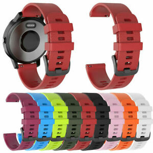 Replacement Silicone Wristband Bracelet Strap Band for Garmin Forerunner 645/245