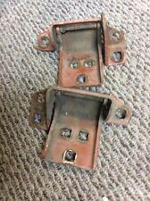 73-87 CHEVY C10 K10 K5 BLAZER JIMMY RIGHT PASSENGER DOOR HINGES UPPER & LOW OEM