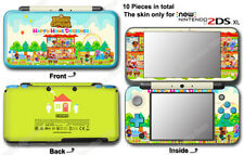 Animal Crossing Happy Home Designer Skin Sticker Cover Decal #3 for NEW 2DS XL