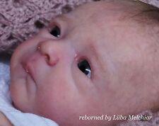 reborn newborn Milaine by Evelina Wosnjuk artist Lüba Melchior cute baby
