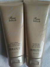 Avon Rare Gold Body Lotion And Shower Gel Sealed