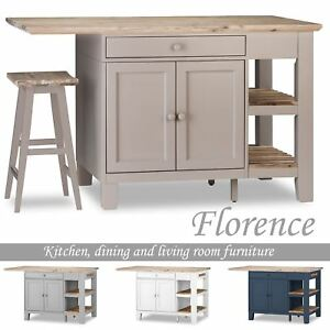 Solid Wood Kitchen Carts For Sale Ebay