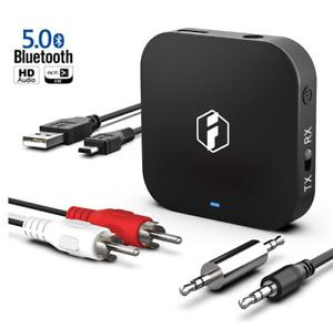 Inateck aptx-hd Bluetooth 5.0 Adapter Transmitter und Empfänger 2-in-1, BR1008