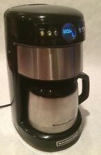 KitchenAid KCM1203OB0 12 CUPS THERMAL CARAGE COFFEE MAKER CONTOUR SILVER