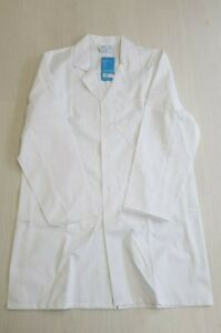Blue Castle 444/WT-L Large Warehouse Coat - White