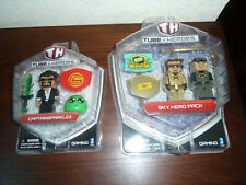 New Tube Heroes Captain Sparklez & Sky Hero Pack Lot of 2 Action Figure Toy Set