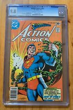 Action #485 CGC 9.8 NM/MT, OW/W, Neal Adams cover!
