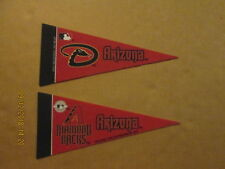 MLB Arizona Diamondbacks Vintage 2010 & 2014 Mini Logo Baseball Pennants