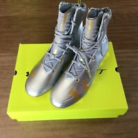 Under Armour Mens Highlight MC LE Football Cleat Silver Gold  3000338-100 13 New