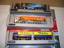 9 neue Herpa Modellfahrzeuge 3 LKW u.6 Autos 1:87