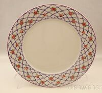 "Princeton Studios RUBANES 8935 Dinner Plate(s) 10 1/2"" Excellent"