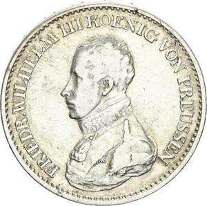 Brandenburg-Preußen Friedrich Wilhelm III. Taler 1819 A (Berlin) Silber ss