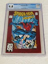 Spider-Man 2099 #1 CGC 9.8 WP Origin Spider-Man 2099 Red Foil Cover