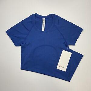 Lululemon Swiftly Tech 2.0 Short Sleeve - Regatta Blue, Size 2
