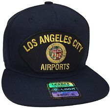 City Of Los Angeles Airports Hat Color Navy Blue Snapback
