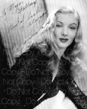 Veronica Lake signed 8X10 photo picture poster autograph RP