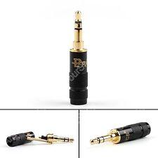 1Pc 3.5mm 3 Pole Male Repair Headphone Jack Plug Metal Audio Solder Adapter