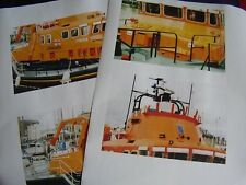 BOAT PICTURES RNLI LIFEBOAT RNLB THE WILL ERNST & MABEL RICHARD COX SCOTT 50 PGS