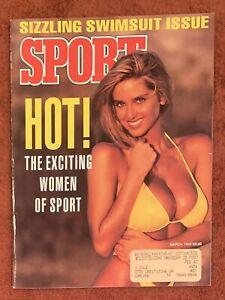 3.1992 HOT Sport Swimsuit Issue BARRY BONDS Pirates HOWARD JOHNSON New York Mets