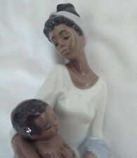 """LLADRO BLACK LEGACY -- """"A MOTHER'S EMBRACE"""""""