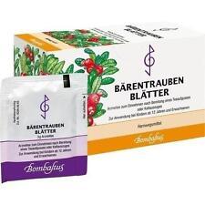 BÄRENTRAUBENBLÄTTER Filterbeutel 20X3g PZN 589688