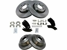 For 2002-2005 GMC Envoy XL Brake Pad and Rotor Kit Front and Rear 43883QC 2003