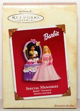 2003 Special Memories Barbie Vsd Box Photoholder New Hallmark Ornament Pretty