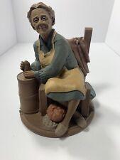 "1985 Tom Clark Rachel Butter Churn Large 8"" Figure Cairn Studio #27"