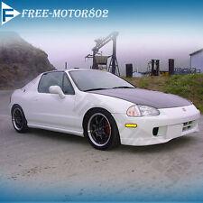 For NEW Honda Del Sol Front Bumper Lip T-R Type R Style Bodykit Spoiler PU