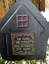 Comical fairy door mold plaster concrete casting mould