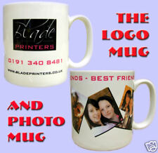 Personalised Photo Mug. Mugs printed with your own picture, company logo & text.
