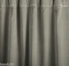 Nip Pottery Barn Velvet Pole Pocket Drape Panel Curtain (1) 100x108 *Stone/Gray