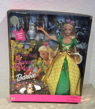 2000 The Tale of the Forest Princess Barbie doll NRFB play along Golden Books