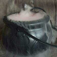 Halloween Cauldron Mister Mist Maker Smoke Fog Machine Color Changing Party