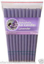 Naturhelix Ear Candles Lavender 5 Pairs Organic Beeswax and Cotton  ARTG 185554