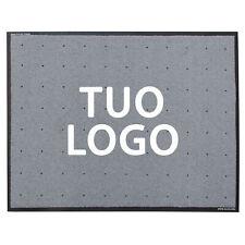 Tappeto personalizzato con logo, professionale, su misura, drenante, 72 colori