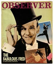 Observer Magazine 6 May 1979 Bo Diddley Fred Astaire British marine artists