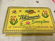 Collectible Cardboard Whitmans Sampler Cross Stitch Box - Sell for Charity