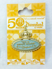Disney Pin SMALL WORLD 50th ANNIVERSARY MARQUEE WALT Limited Edition Hinged